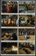 "Movie Posters:Historical Drama, Carthage in Flames (Columbia, 1960). British Lobby Card Set of 8(11"" X 14""). Historical Drama. Starring Anne Heywood, Jose ...(Total: 8)"