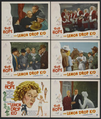 "The Lemon Drop Kid (Paramount, 1951). Title Lobby Card (11"" X 14"") and Lobby Cards (5) (11"" X 14"")..."