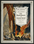Movie Posters:Horror, The Hunchback of Notre Dame (Universal, 1923). Program (MultiplePages). Horror. Starring Lon Chaney, Patsy Ruth Miller, Nor...