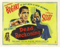 "Movie Posters:Film Noir, Dead Reckoning (Columbia, 1947). Half Sheet (22"" X 28"")...."