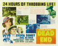 "Movie Posters:Crime, Dead End (United Artists, 1937). Half Sheet (22"" X 28"")...."