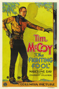 "Movie Posters:Western, The Fighting Fool (Columbia, 1932). One Sheet (27"" X 41"")...."