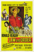 """Movie Posters:Western, Law and Order (Universal International, 1953). One Sheet (27"""" X 41"""")...."""
