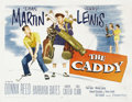 "Movie Posters:Sports, The Caddy (Paramount, 1953). Half Sheet (22"" X 28"") Style B...."