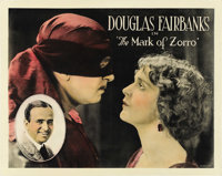 "The Mark of Zorro (United Artists, 1920). Half Sheet (22"" X 28"")"