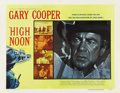 "Movie Posters:Western, High Noon (United Artists, 1952). Half Sheet (22"" X 28"") Style A. ..."