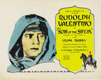 """The Son of the Sheik (United Artists, 1926). Title Lobby Card (11"""" X 14"""")"""