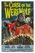 "Movie Posters:Horror, Curse of the Werewolf (Universal, 1961). One Sheet (27"" X 41"")...."
