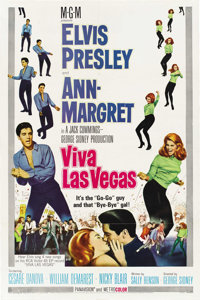 "Viva Las Vegas (MGM, 1964). One Sheet (27"" X 41"")"