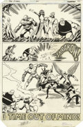 Original Comic Art:Panel Pages, John Byrne and Terry Austin - X-Men #141, page 30 Original Art(Marvel, 1981)....