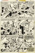 Original Comic Art:Panel Pages, John Byrne and Pablo Marcos - Avengers #165, page 30 Original Art(Marvel, 1977)....