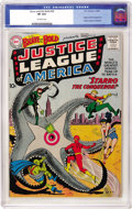 Silver Age (1956-1969):Superhero, The Brave and the Bold #28 Justice League of America (DC, 1960) CGC VF 8.0 Off-white pages....