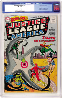 The Brave and the Bold #28 Justice League of America (DC, 1960) CGC VF 8.0 Off-white pages