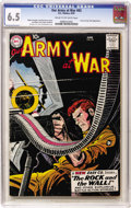 Silver Age (1956-1969):War, Our Army at War #83 (DC, 1959) CGC FN+ 6.5 Cream to off-white pages....
