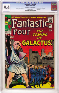 Fantastic Four #48 (Marvel, 1966) CGC NM 9.4 Off-white to white pages