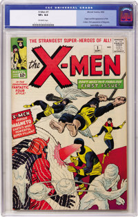 X-Men #1 (Marvel, 1963) CGC VF+ 8.5 Off-white pages