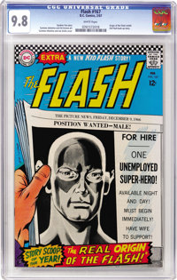 The Flash #167 (DC, 1967) CGC NM/MT 9.8 White pages