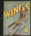 "Movie Posters:War, Wings (Paramount, 1927). Program (Multiple Pages). War. StarringClara Bow, Charles ""Buddy"" Rogers, Richard Arlen, Jobyna Ra..."