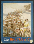 Movie Posters:War, The Big Parade (MGM, 1925). Program (Multiple Pages). War. StarringJohn Gilbert, Renee Adoree, Hobart Bosworth, Claire McDo...