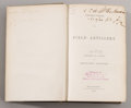 Military & Patriotic:Civil War, Artillery Manual Signed By Future Union Major General Samuel P. Heintzelman. Instruction For Field Artillery, by a Board...