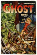 Golden Age (1938-1955):Horror, Ghost #9 (Fiction House, 1953) Condition: GD/VG....