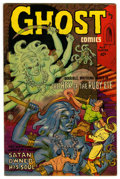 Golden Age (1938-1955):Horror, Ghost Comics #5 (Fiction House, 1952) Condition: FN....