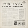 Music Memorabilia:Autographs and Signed Items, Paul Anka Signed Album....