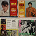 Music Memorabilia:Recordings, Elvis Presley EP Group of 3 (RCA, 1956-65).... (Total: 3 )