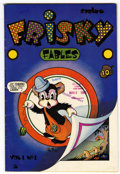 Golden Age (1938-1955):Funny Animal, Frisky Fables #1 Library of Congress Copy (Star Publications, 1945)Condition: FN....