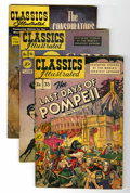 Golden Age (1938-1955):Classics Illustrated, Classics Illustrated Group (Gilberton, 1947-62).... (Total: 16Comic Books)