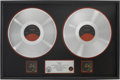 Music Memorabilia:Awards, Anita Baker Rapture RIAA Double-Platinum Sales Award....