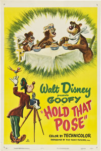 """Hold That Pose (RKO, 1950). One Sheet (27"""" X 41"""")"""