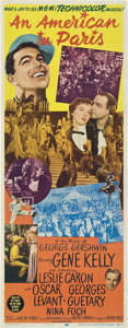 "Movie Posters:Musical, An American in Paris (MGM, 1951). Insert (14"" X 36"").. ..."