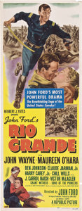 "Movie Posters:Western, Rio Grande (Republic, 1950). Insert (14"" X 36"").. ..."