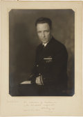 Autographs:Military Figures, Richard E. Byrd Photo Signed. A formal B&W portrait in Navy dress uniform by noted Auburn, New York photographer Ernsberger ...