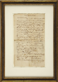 "[Israel Putnam] Contemporary Copy Advising Colonel Williams to Raise Troops. One page, 7"" x 12.25"", April 23..."