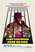 """Movie Posters:Western, Hang 'em High (United Artists, 1968). One Sheet (27"""" X 41"""").. ..."""