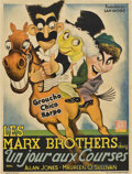 "Movie Posters:Comedy, A Day at the Races (MGM, 1937). Pre-War Belgian (23"" X 30"").. ..."