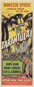 "Movie Posters:Science Fiction, Tarantula (Universal International, 1955). Insert (14"" X 36"").. ..."
