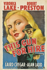 """This Gun for Hire (Paramount, 1942). One Sheet (27"""" X 41"""") Style A"""