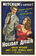 "Movie Posters:Comedy, Holiday Affair (RKO, 1949). One Sheet (27"" X 41"") Style B.. ..."
