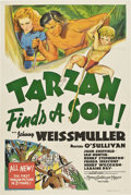 "Movie Posters:Adventure, Tarzan Finds a Son (MGM, 1939). One Sheet (27"" X 41"") Style C.. ..."