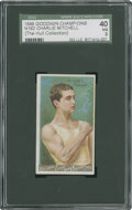 Boxing Cards:General, 1888 Goodwin Champions Charlie Mitchell SGC 40 VG 3....