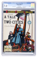 Golden Age (1938-1955):Classics Illustrated, Classic Comics #6 A Tale of Two Cities Original Edition - Rockford pedigree (Gilberton, 1942) CGC FN/VF 7.0 White pages....
