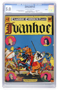 Golden Age (1938-1955):Classics Illustrated, Classic Comics #2 Ivanhoe Original Edition - Rockford pedigree(Gilberton, 1941) CGC VG/FN 5.0 Off-white to white pages....