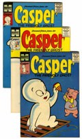 Golden Age (1938-1955):Cartoon Character, Casper the Friendly Ghost File Copy Group (Harvey, 1955-58) Condition: Average VF.... (Total: 13 Comic Books)