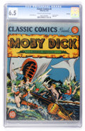 Golden Age (1938-1955):Classics Illustrated, Classic Comics #5 Moby Dick Original Edition - Rockford pedigree(Gilberton, 1942) CGC FN+ 6.5 Cream to off-white pages....