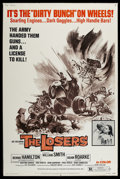 "Movie Posters:Action, The Losers (Fanfare, 1970). Poster (40"" X 60""). Action.. ..."