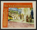 "Movie Posters:Historical Drama, The Ten Commandments (Paramount, 1956). Lobby Cards (7) (11"" X14""). Historical Drama.. ... (Total: 7 Items)"