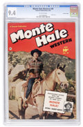 Golden Age (1938-1955):Western, Monte Hale Western #49 Crowley Copy pedigree (Fawcett, 1950) CGC NM 9.4 Off-white pages. ...